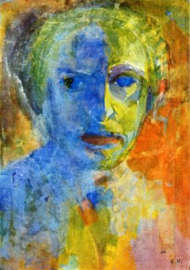Self portrait - Emile Nolde