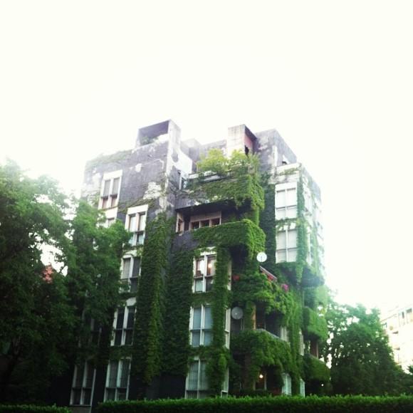 palazzo vicino al parco della Martesana - http://instagram.com/ale9ssandra/