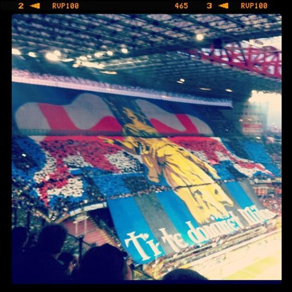 Derby Inter - Milan 2013 http://instagram.com/ale9ssandra/