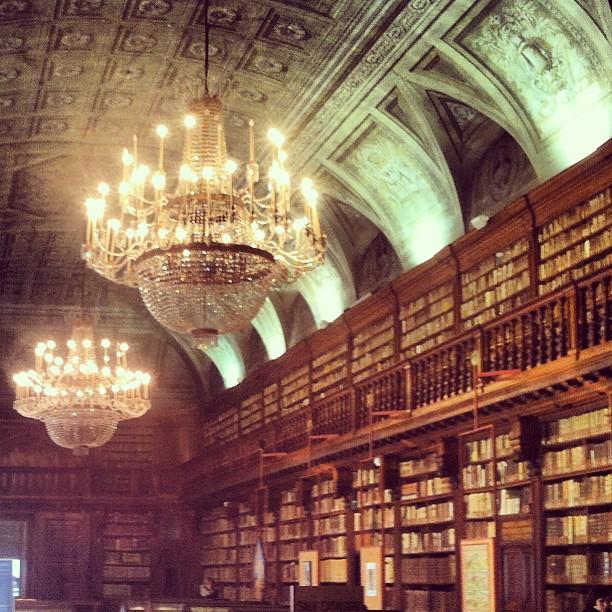 Biblioteca della Pinacoteca di Brera Foto http://instagram.com/ale9ssandra/