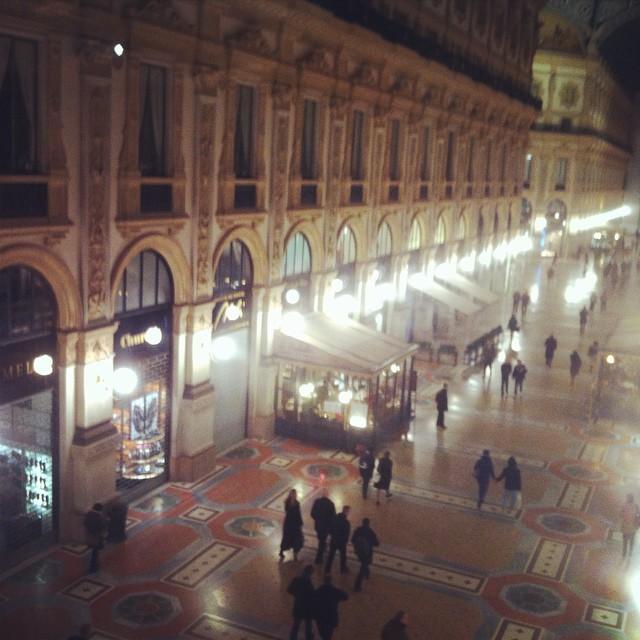 Galleria Vittorio Emanuele, Milano foto di @Ale9ssandra