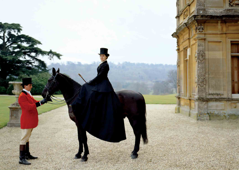 Highclere-Castle-Garden-Riding-the-property-from-Downtown-Abbey